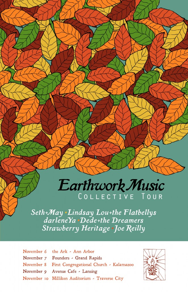 Earthwork Tour Poster